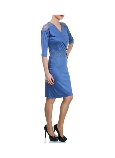 Beymen Studio Elbise Mavi